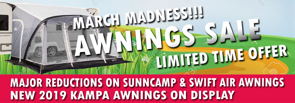 Awnings Sale - New 2019 Awnings Range - Ryedale Leisure