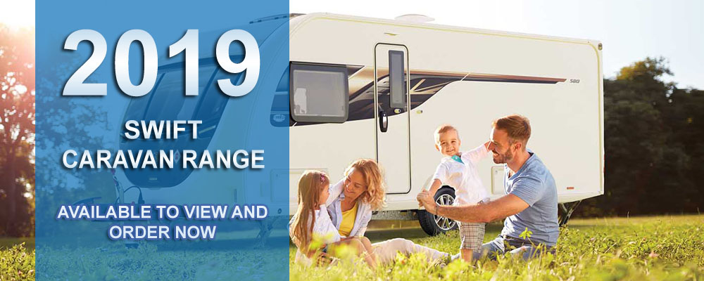 New Swift 2019 Caravan Range - Ryedale Caravan & Leisure