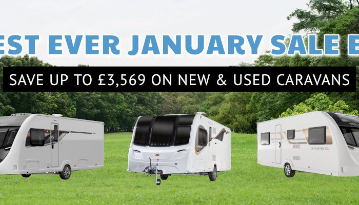 Biggest Ever January Sale Event - Ryedale Caravans & Leisure