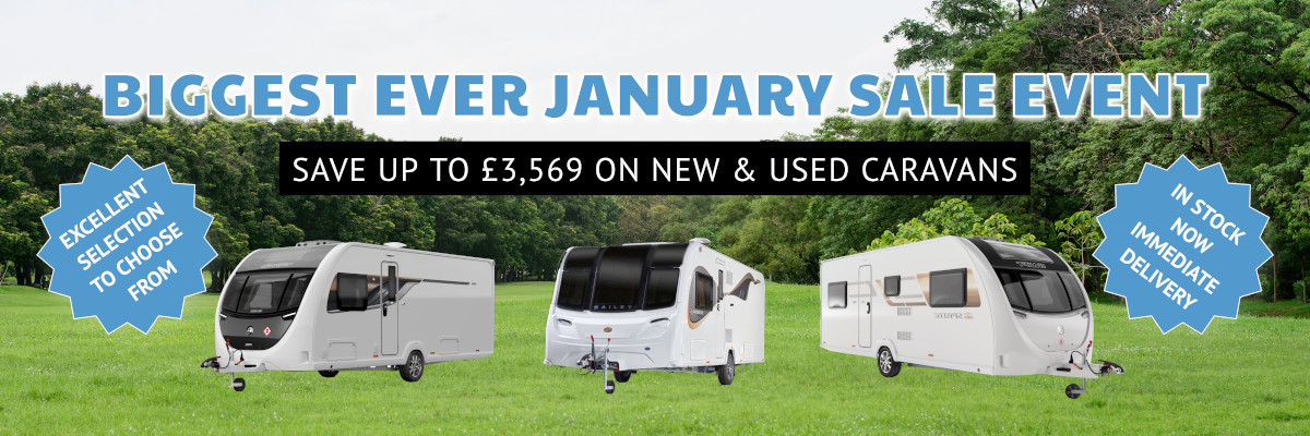 Biggest Ever January Sale Event - Ryedale Caravans & Leisure