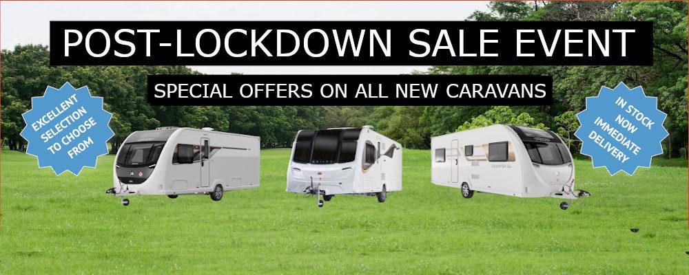 Post-Lockdown Sale Event - Ryedale Caravan & Leisure
