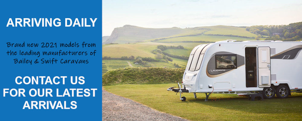 New 2021 Range From Bailey & Swift - Ryedale Caravan & Leisure